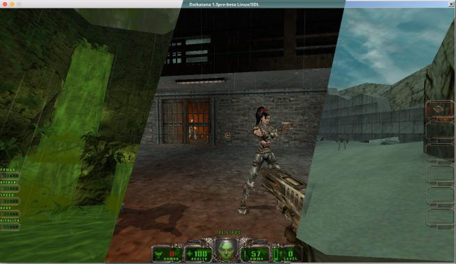 Daikatana Crossplatform Screenshot
